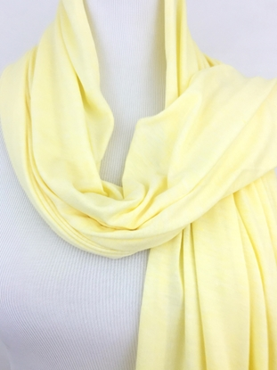 Picture of Light Yellow  Non Stretchy Cotton Sports Wrap