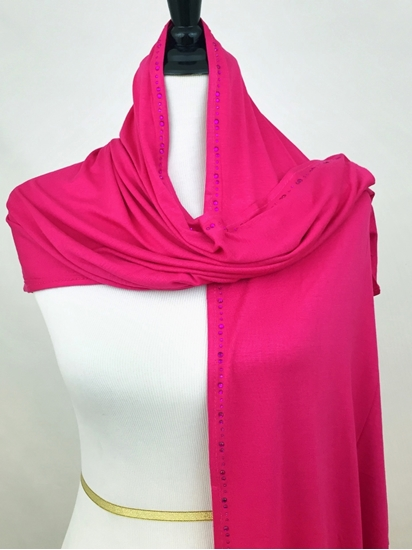 Picture of Hot Pink Wrap with Rhinestones
