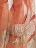 Picture of Copper Embroidered  & Beeded Leafy Scarf