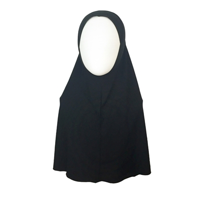 Picture of Black  Amira One Piece Large Size - Turlu Fabric