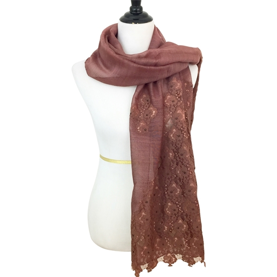 Picture of Beaded Lace Scarf