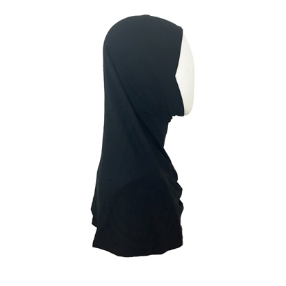Picture of Black Amira One Piece Regular Size - Turlu Fabric