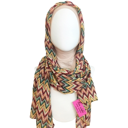 Picture of Chiffon ZigZag Scarf