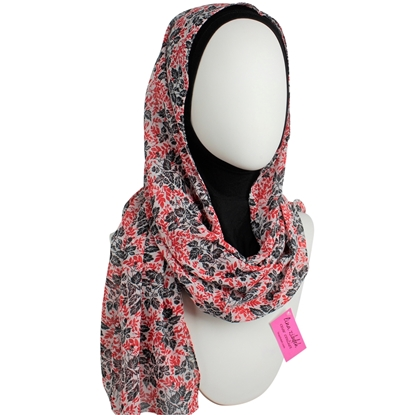 Picture of Chiffon Leafy Scarf