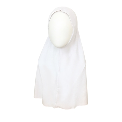 Picture of White Amira One Piece Large Size - Turlu Fabric