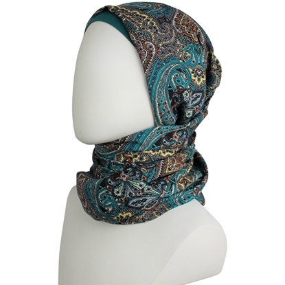 patterned hijab