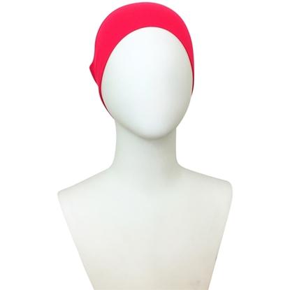 Picture of Hijab  Pinkish Watermelon Tube Undercap - Turlu Fabric