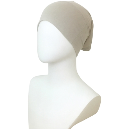 Picture of Hijab Side Seams Beige Tube Undercap