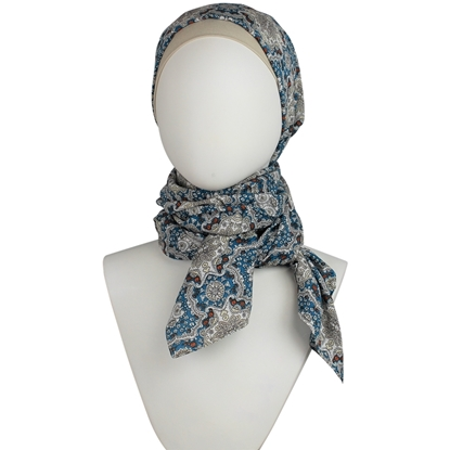 Picture of Cooling Patterned Hijab Scarf