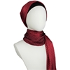 Picture of Deep Red Satin Hijab