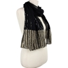 Picture of Beaded Striped Border Scarf