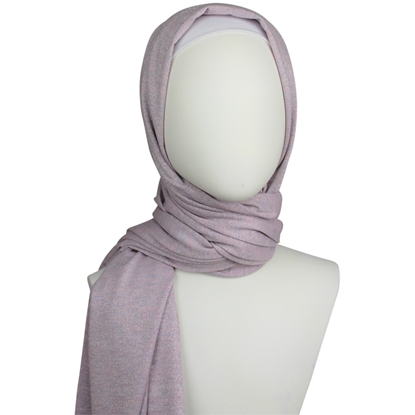 Shimmer jersey hijab