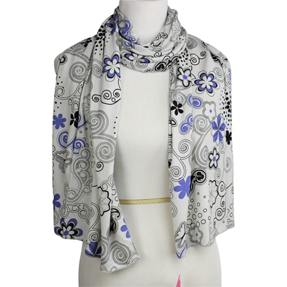 Picture of Patterned Jersey Hijab  - Soft & Light