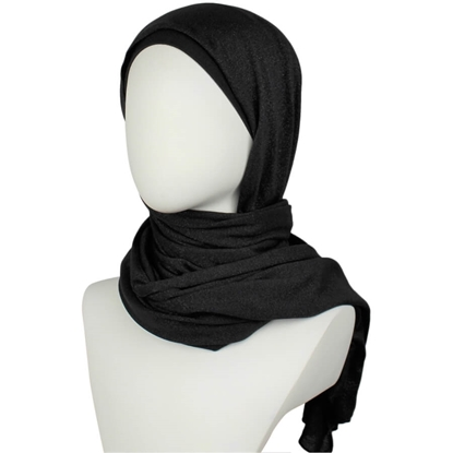 Shimmer Cotton Jersey Hijab