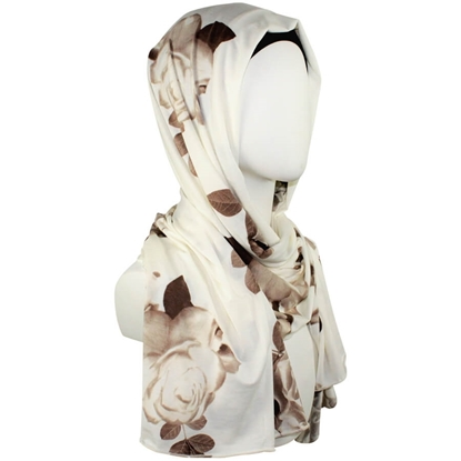Patterned Jersey hijab