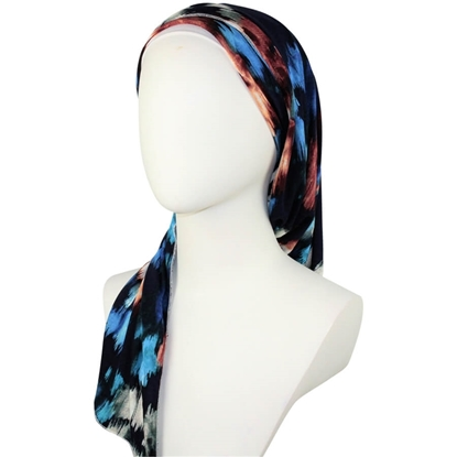 Patterned Cotton jersey hijab