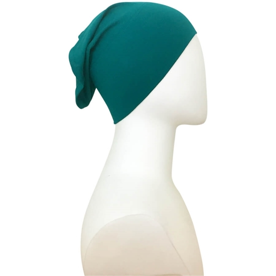 green tube cap   HIjab undercap