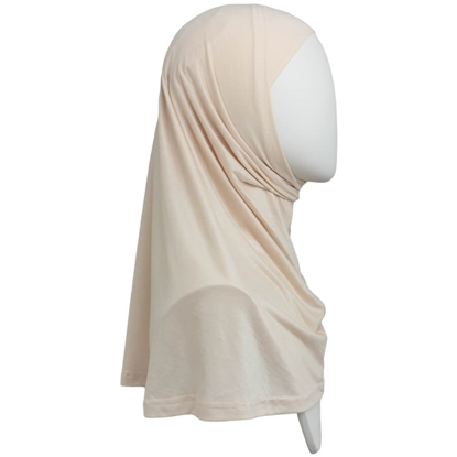 Picture of Neutral Blush Cotton  Jersey Two-Piece Amira - Medium  Regular Size