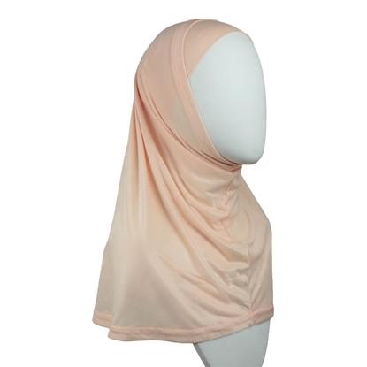 Picture of Peach Cotton  Jersey Two-Piece Amira - Medium Regular Size