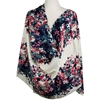 Picture of Double Floral Border Rayon Hijab