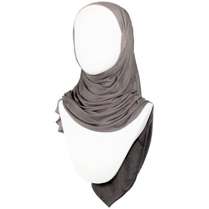 Picture of Kuwaiti Rustic Brown Jersey Hijab