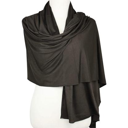 Picture of Kuwaiti Chocolate Mocha Cotton Jersey Hijab