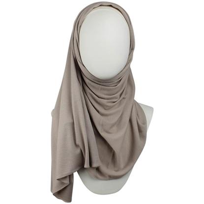 Picture of Kuwaiti Neutral Beige Waffle Print  Hijab