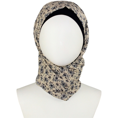 Picture of Floral Patterned Rayon Hijab