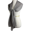 Picture of Basic Grey Chiffon Hijab