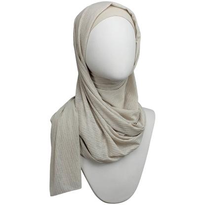 Picture of Kuwaiti Sand Beige SO Soft & Light  Hijab