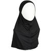 Picture of Black Cotton Jersey Two-Piece Amira - Medium  Size &  Longer Tube Cap