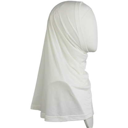Picture of Ivory Cotton Spandex Two-Piece Amira - Medium  Size &  Longer Tube Cap