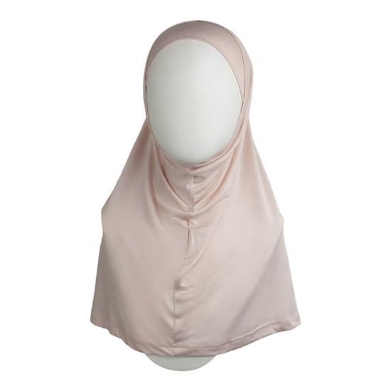 Picture of Pinkish Neutral Cotton Spandex Two-Piece Amira - Medium  Size &  Longer Tube Cap