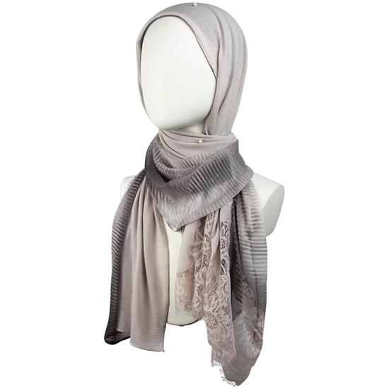 Picture of A Multi-Tasker Kuwaiti  Neutral Hijab!