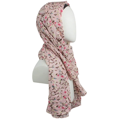 Picture of You Go Girl!! Floral Patterned Rayon Hijab