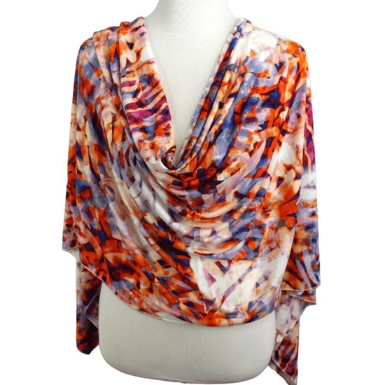Picture of Ahhh! This Patterned Jersey Hijab