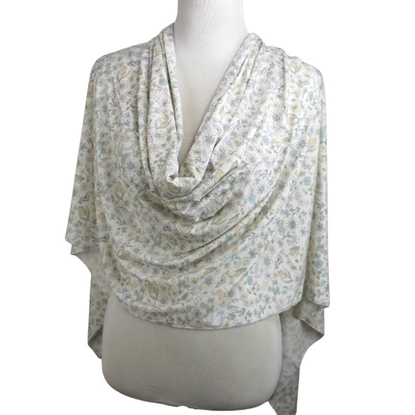 Picture of A Floral Meadow Patterned Jersey Hijab